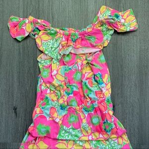 Lilly Pulitzer Floral Maxi